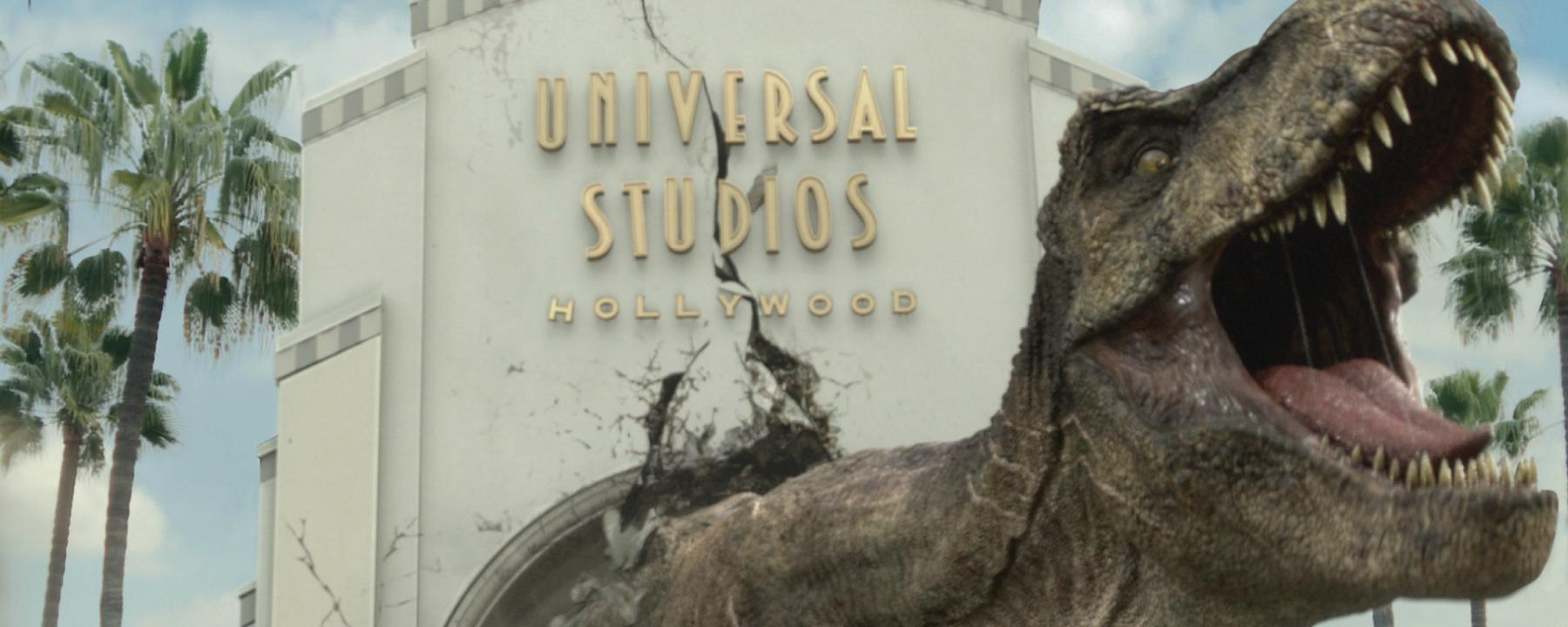 Jurassic World at Universal Studios Hollywood
