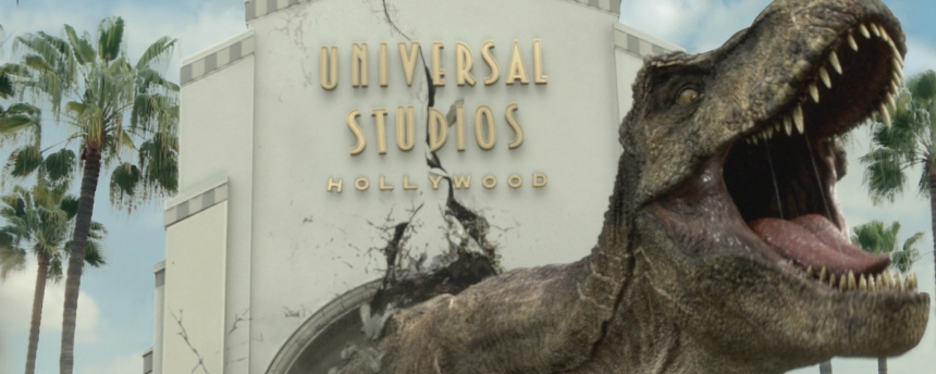 Jurassic World at Universal Studios Hollywood