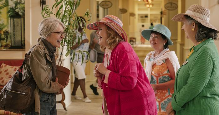 "Diane Keaton and Celia Weston in STX Films' ""Poms."