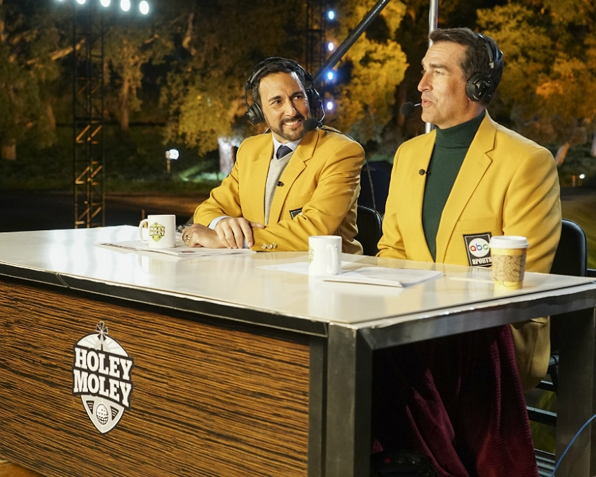Joe Tessitore and Rob Riggle
