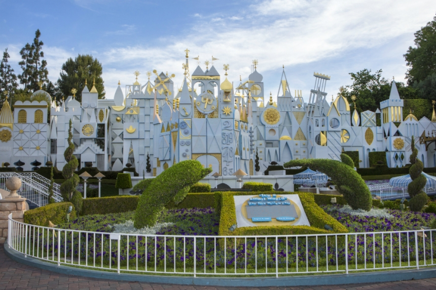 It's a Small World attraction at Disneyland