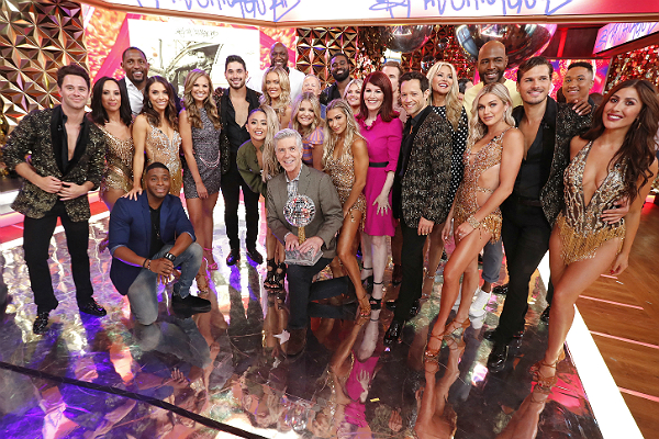 "The cast of ""Dancing with the Stars"" for 2019."