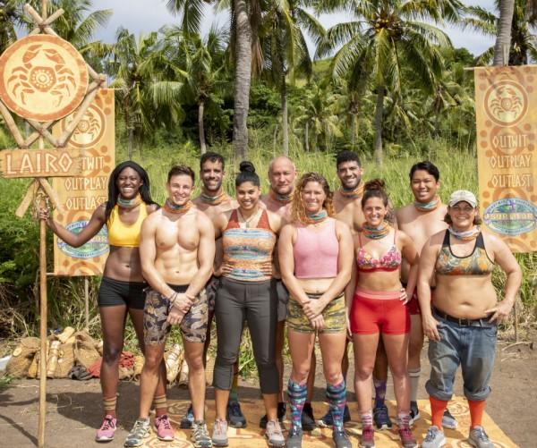The Lairo tribe from Survivor season 39