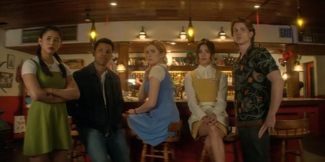 "The cast from ""Nancy Drew"""
