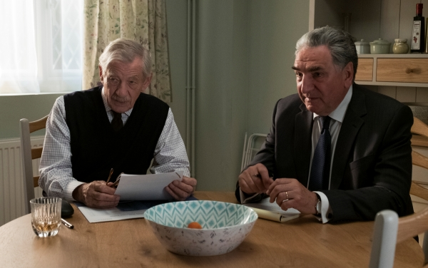 "Roy (Ian McKellen ) and Vincent (Jim Carter) in ""The Good Liar."""