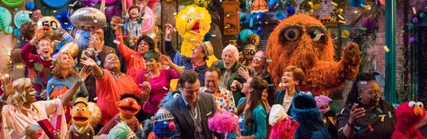 Sesame Street's 50th Annivesary