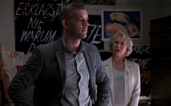 "Steven (Russell Tovey) and Betty (Helen Mirren) in ""The Good Liar."""