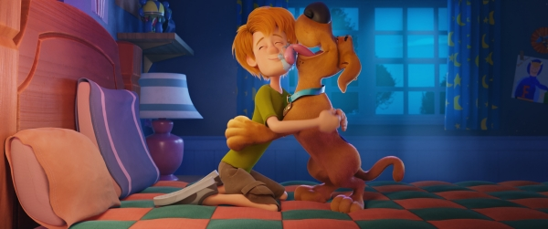 Young Shaggy and Scooby-Doo