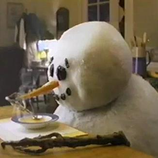 Campbell Soup Snowman