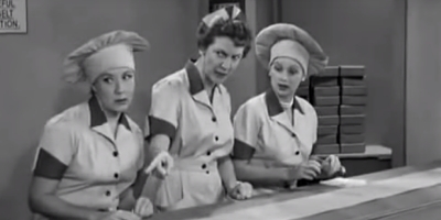 I Love Lucy chocolate episode