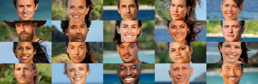 The cast of Survivor season 40