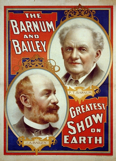 PT Barnum and Bailey