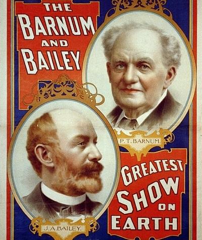 PT Barnum and Bailey