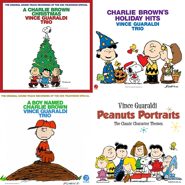 Vince Guaraldi's Peanuts music