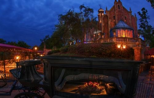 Haunted Mansion at DisneyWorld