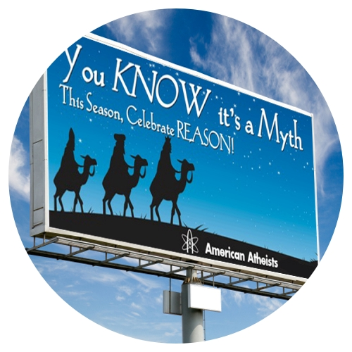 Christmas Myth Billboard