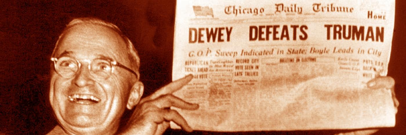 Dewey Defeats Truman