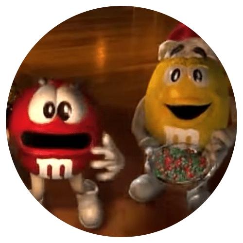 M and M Christmas