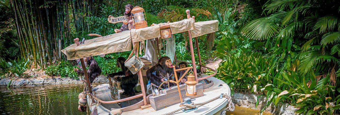 Jungle Cruise Ride